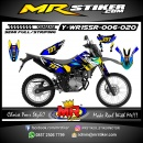 Stiker motor decal Yamaha WR 155 R The Dark Gradation