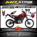 Stiker motor decal Yamaha WR 155 R Red Splat