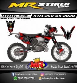 Stiker motor decal KTM 250 Mechanical Tech
