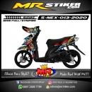 Stiker motor decal Suzuki Nex Eagle Garage