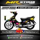 Stiker motor decal Suzuki Shogun SP Brush Spots colorful