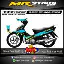 Stiker motor decal Suzuki Shogun SP Splat Lightning