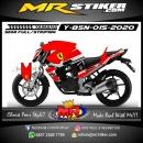 Stiker motor decal Yamaha Byson Ferrari Grafis