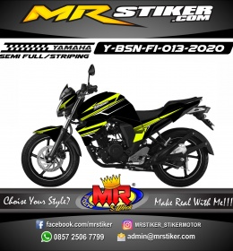 Stiker motor decal Yamaha Byson New Green Light Stabillo