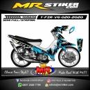 Stiker motor decal Yamaha Fiz R Fox Splater