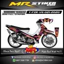 Stiker motor decal Yamaha Fiz R Grafis Circle Tech