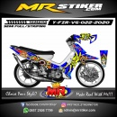 Stiker motor decal Yamaha Fiz R Sun Rossi 46 the doctor
