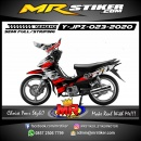 Stiker motor decal Yamaha Jupiter Z Splate Fox