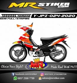Stiker motor decal Yamaha Jupiter Z Repsol Grafis