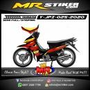 Stiker motor decal Yamaha Jupiter Z The Flag Race Gradation