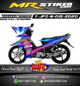 Stiker motor decal Yamaha Jupiter Z Grafis Line Splat