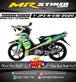 Stiker motor decal Yamaha Jupiter Z New Tosca Grafis The direction