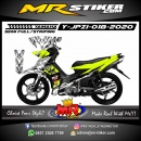 Stiker motor decal Yamaha Jupiter Z1 Stabillo Cracked