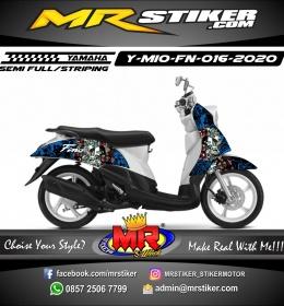 Stiker motor decal Yamaha Mio Fino Full Doodle