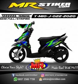 Stiker motor decal Yamaha Mio J Minimalis Grafis Selection