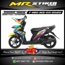 Stiker motor decal Yamaha Mio M3 Rainbow Color