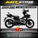 Stiker motor decal Yamaha MX KING Black KTM RedBull Grafis