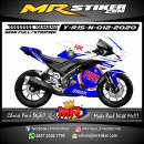 Stiker motor decal Yamaha R15 New FIAT Race