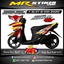 Stiker motor decal Yamaha Soul GT New Grafis
