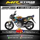 Stiker motor decal Yamaha Vixion Barong Bali Culture