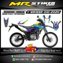 Stiker motor decal Yamaha WR 155 R In Galaxy