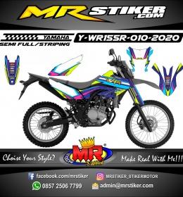 Stiker motor decal Yamaha WR 155 R In Galaxy