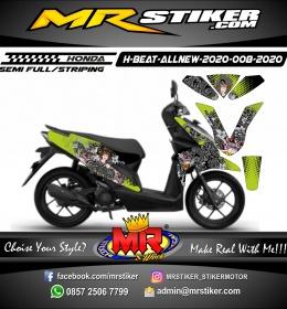 Stiker motor decal Honda Beat All New 2020 Barong Dan Penari
