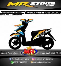 Stiker motor decal Honda Beat New Grafis Repsol
