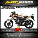 Stiker motor decal Honda CB 150 R Airbrush Strip