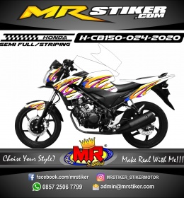 Stiker motor decal Honda CB 150 R Airbrush Strip