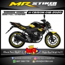Stiker motor decal Honda CB 150 R New Techno Yellow Gradation