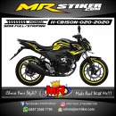 Stiker motor decal Honda CB 150 R New Tech Carbon
