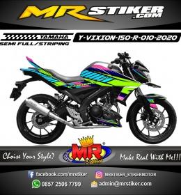 Stiker motor decal Yamaha Vixion R Grafis Trendy