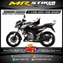 Stiker motor decal Yamaha Vixion Advance Getch Grafis Tech