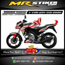 Stiker motor decal Yamaha Vixion Advance Movistar Grafis