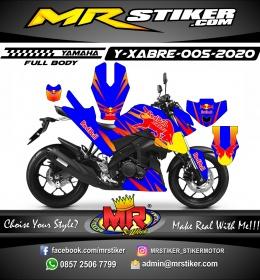 Stiker motor decal Yamaha Xabre Fullbody RedBull