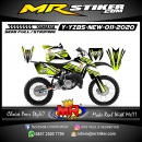 Stiker motor decal Yamaha YZ 85 New Grafis Line Lime Calm
