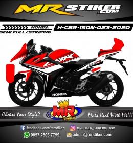 Stiker motor decal Honda CBR 150 New Grafis Line CBR Simple