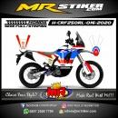 Stiker motor decal Honda CRF 250 Rally Classic Afric