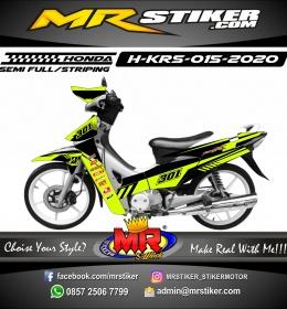 Stiker motor decal Honda Karisma Stabillo Racing Grafis Race Team