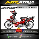 Stiker motor decal Honda Karisma Red Grafis Knight Race