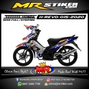 Stiker motor decal Honda Revo Star Racing Grafis