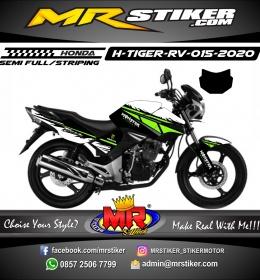 Stiker motor decal Honda Tiger Revo Monster Energy Grafis