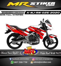 Stiker motor decal Kawasaki Ninja R New Red Grafis