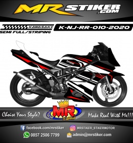 Stiker motor decal Kawasaki Ninja RR Grafis Line Race Racing
