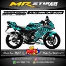 Stiker motor decal Kawasaki Ninja RR New Splat Road Race Wheel