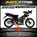 Stiker motor decal Suzuki Satria FU Grafis Color