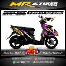 Stiker motor decal Yamaha Mio GT Racing Line Grafis Type