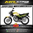 Stiker motor decal Yamaha Scorpio Z Line Yellow Lime Grafis Thec