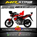 Stiker motor decal Yamaha Vixion New Red Line Grafis Road Race